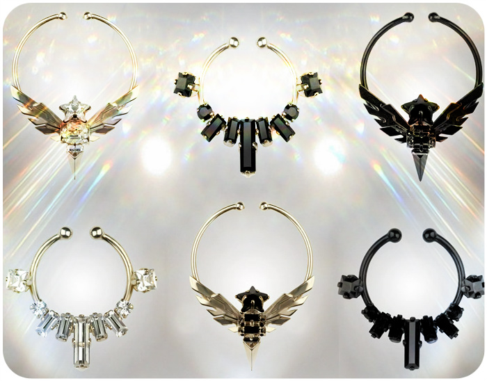 Givenchy Nose Rings Fall Winter 2012